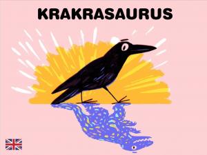 Krakrasaurus engelsk