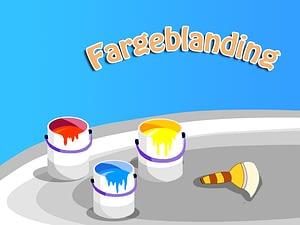 Fargeblanding