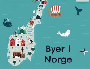 Byer i Norge