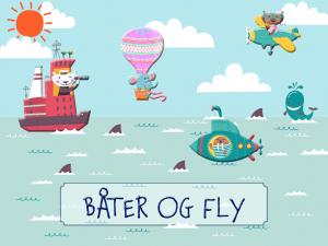 Forside båter og fly