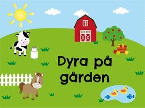 Dyra på gården