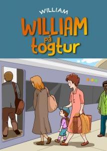 William på togtur